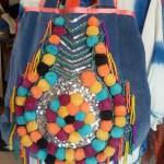 sac pompons ethnique
