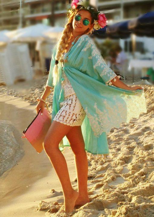 veste tunique coton