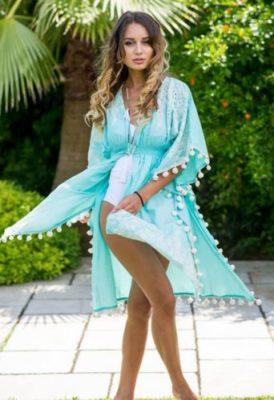 Kimonos à pompons
