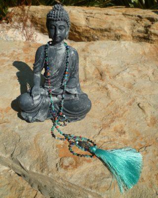 bouddha turquoise