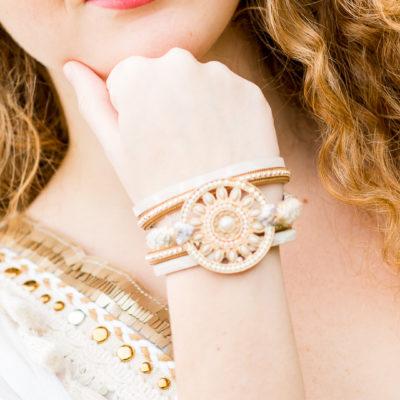 bracelet manchette aimanté