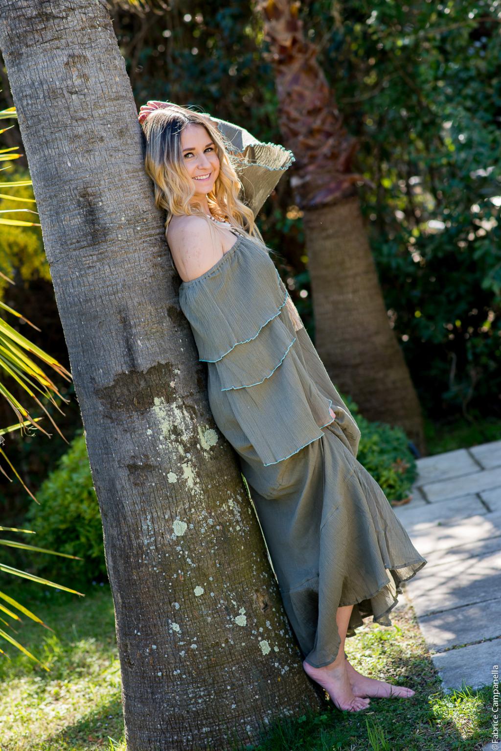 robe longue profil