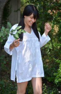 Robe tunique coton